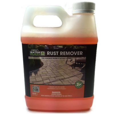 Alliance Gator Clean Rust Remover for Pavers & Natural Stones 1 Qt