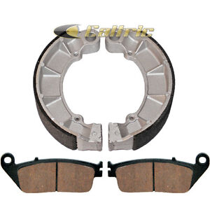 FRONT-REAR-BRAKE-SHOES-Fits-Honda-VT750-VT750C-VT750CA-SHADOW-AERO-04-13