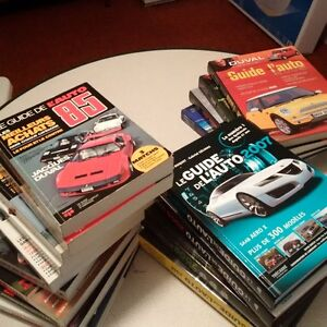 Passionné d'auto?  collection du Guide de l'auto Saint-Hyacinthe Québec image 1