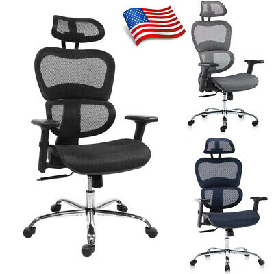 Ergonomic Office Chair 3d Adjustable Computer Gaming Chair High Back Mesh Chair