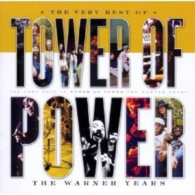 """TOWER OF POWER """"THE VERY BEST OF TOWER OF POWER"""" CD NEU"""