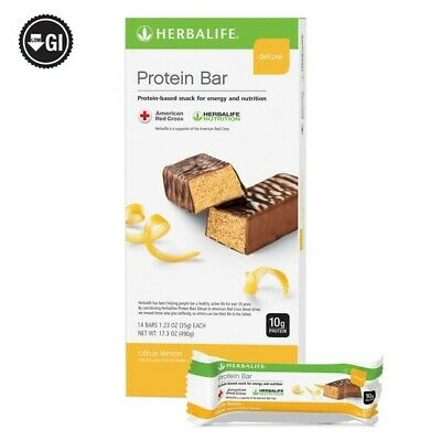 Herbalife Protein Bar Deluxe CITRUS LEMON 14 Bars per Box *HOT SALE& LOW -