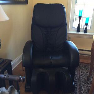 chaise électrique de massage à vendre presque neuve