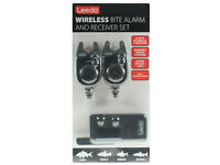 NEW Leeda Twin Wireless Bite Alarm & Receiver Set