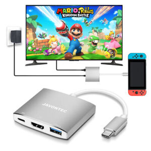 Brand New USB Type C to HDMI Hub Dock for Nintendo Switch,
