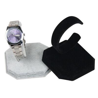 Velvet Bracelet Bangle Wrist Watch Display Rack Holder Show Case Stand Tool