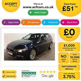 BMW 320 2.0TD ( 184bhp ) FROM £51 PER WEEK!