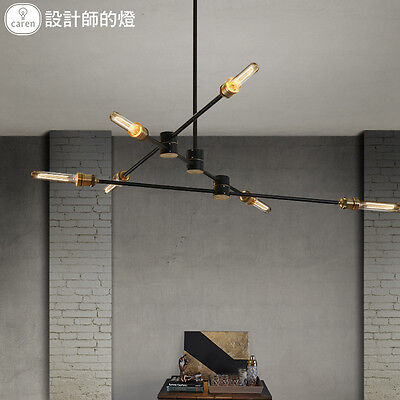 Restoration Kinetic Chandelier E27 Light Ceiling Lamp Home Lighting Fixture -