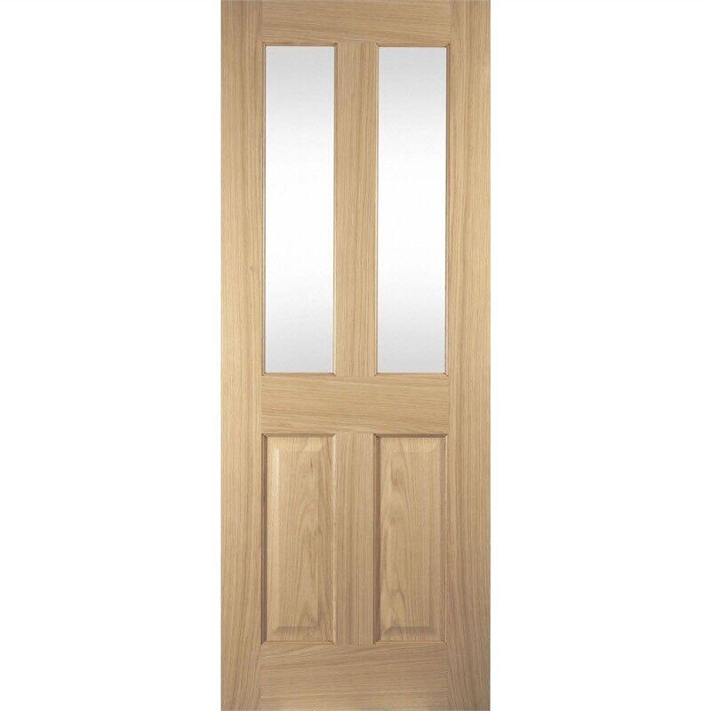Four Panel Oak Veneer Interior Door In Berkhamsted Hertfordshire