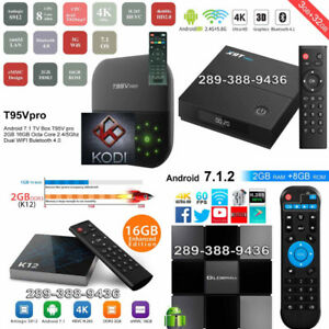 Android TV Boxes Brand new and FAST