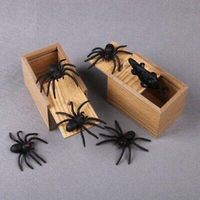 Halloween Box Scare (Hidden in Case Prank Spider Halloween Scare Box Trick Play Joke Horror Gag)