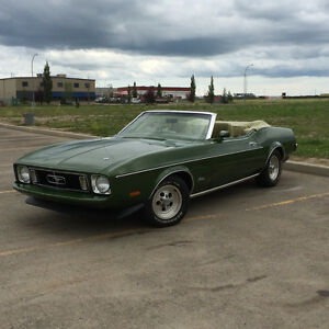 Outstanding and original '73 Mustang Convertible