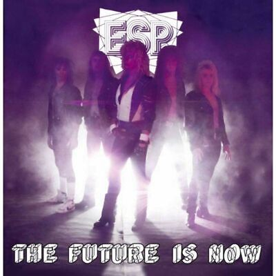 ESP Future Is Now CD 12 tracks FACTORY SEALED NEW 1987/2013 Heaven & Hell USA