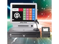 All in one, Double screen ePos, POS, Cash register system