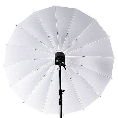 "Studio 75"" / 180cm Large Soft White Translucent Umbrella for Flash Light Strobe"