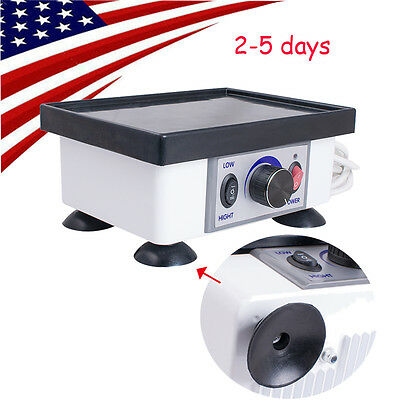 2kg 120w Dental Square Vibrator Vibrating Model Oscillator Lab Equipment- Usa