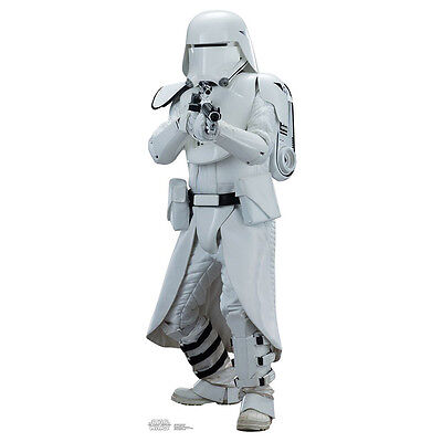SNOWTROOPER Star Wars VII Force Awakens CARDBOARD CUTOUT Standup Standee SW7