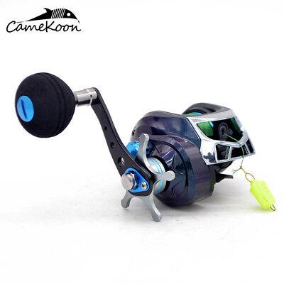 CAMEKOON Baitcast Fishing Reel 7.1:1 Baitcasting Reel with PE Line #3-120m