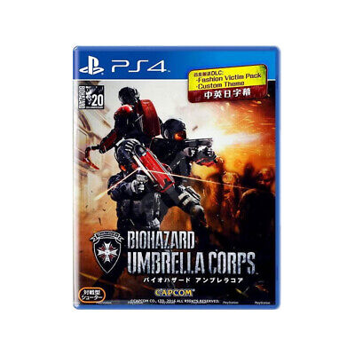 Biohazard Resident Evil Umbrella Corps PlayStation PS4 Multi-Language Sealed comprar usado  Enviando para Brazil