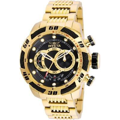 Invicta 25484 Speedway 50MM Men's Gold-Tone Stainless Steel Watch