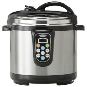 Chef's Mark 5-Qt. Electric Pressure Cooker w/ Slow Cook Function