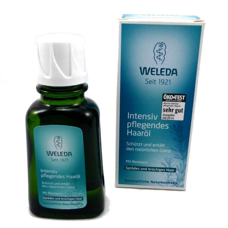 Haaröl von Weleda 50 ml, Pflege für Extensions, Haarverlängerung, ohne Silikon