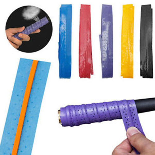 Anti Slip Racket Over Grip Roll Tennis Badminton Squash Handle Tape 1 PAIR #GOU