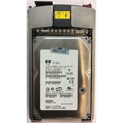 HP 73GB, 15K RPM, SCSI, U320 80 pin w/ tray - 3R-A7346-AA 73gb 15k Rpm U320 Scsi