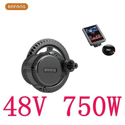 Bafang 8Fun BBS02B Mid Drive Crank Motor,48V 750W Conversion Trike Ebike Kit