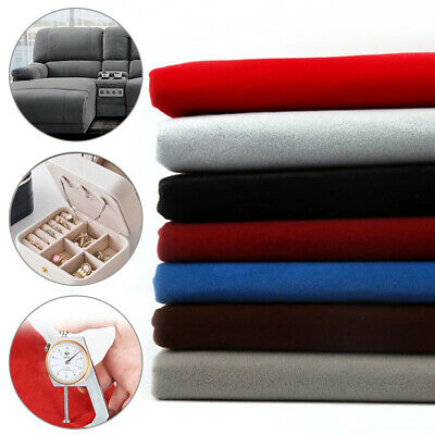 - 1M Self Adhesive Velvet Flocking Liner Jewelry Contact Paper DIY Sticky Fabric