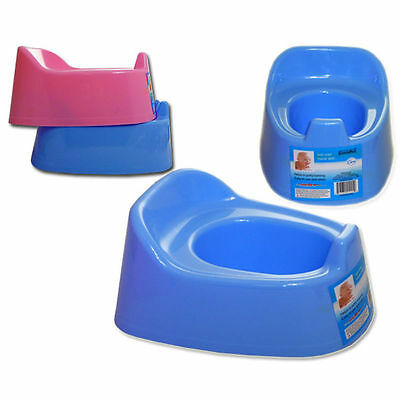 Portable Infant Baby Toilet Potty Training Chair Splashguard Lightweight BLUE***