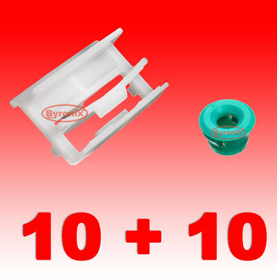 BMW SIDE SILL SKIRT TRIM MOULDING CLIPS GROMMET PLASTIC E36 E46 E90 E91 3 Series