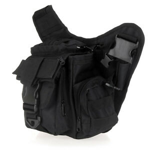 Molle Tactical Shoulder Strap Bag Pouch Travel Backpack Camera Military Bag