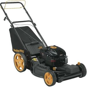 Poulan Pro 3-in-1 High-Wheel Self-Propelled Mower, New