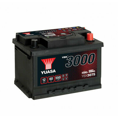 Batterie Yuasa Smf YBX3075 12V 60ah 550A