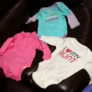 brand new - baby girl onesies