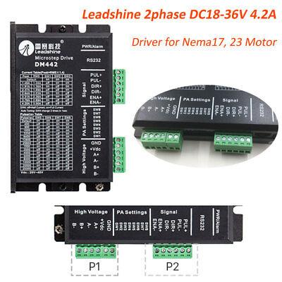 2phase Stepper Driver Dc18-36v 4.2a Controller For Nema17 Nema23 Motor Leadshine