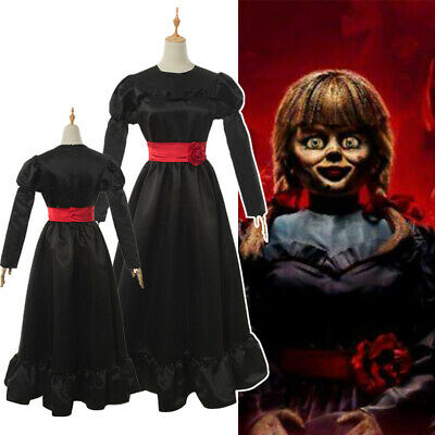 The Conjuring Halloween Costumes (The Conjuring Annabelle Comes Home Cosplay Costume Halloween Women Girls)