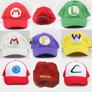 Nintendo Video Game Baseball Hats [New]
