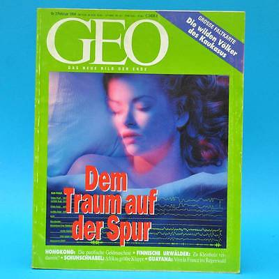 GEO Magazin 2/1994 Traum Hongkong Kaukasus Finnland Schuhschnabel Franz.-Guayana