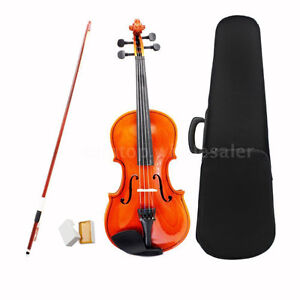 3/4 Size Violin Fiddle Basswood Steel String Arbor Bow BRAND NEW