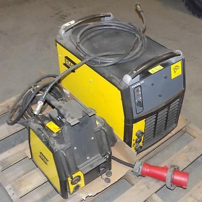 Esab Welding Equipment Aristomig 500 Welder W Aristofeed 48 Pzb