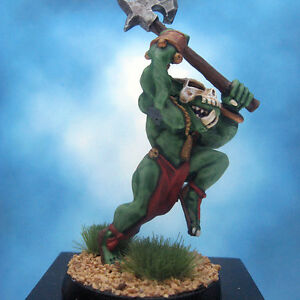 Painted-Ral-Partha-Crucible-Miniature-Orc-Night-Axe