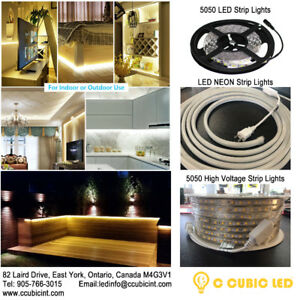 LED Strip Lights for Outdoor and Indoor, cETL listed
