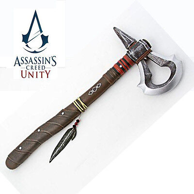Assassin's Creed 3 III 44cm Tomahawk Axe Video Game Cosplay Collectible
