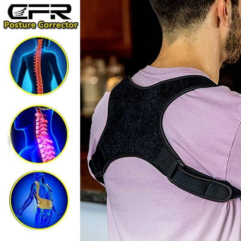 Medical Posture Corrector Back Support Brace Clavicle Upper