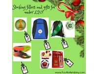 Official football merchandise ideal for stocking fillers and Christmas Gifts.