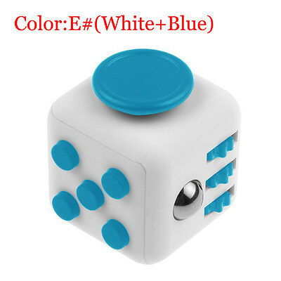 Fidget Cube Spinner Toy Gift Kids Desk Adults Stress Relief Cubes ADHD #5