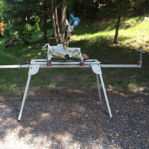 """10"""" Compound Mitre Slide with stand"""