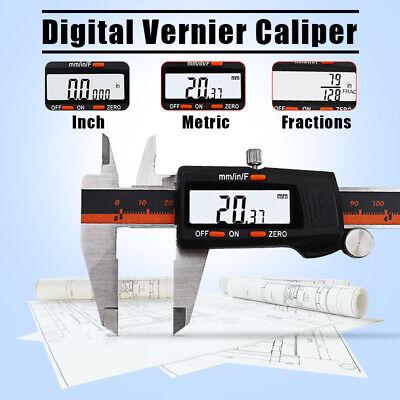 0-150mm Stainless Steel Digital Electronic Vernier Caliper Gauge Micrometer